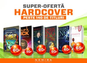 Promotii Nemira Hardcover si Lichidare de Stoc (28.01 – 03.02)