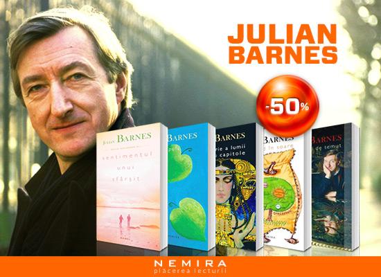 Reducere aniversara Julian Barnes -50%