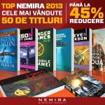 Reduceri la cel mai bine vandute 50 de volume Nemira