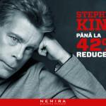 Reducere 42% la Romanele lui Stephen King