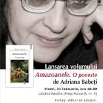 "Cartea Anului 2013 – ""Amazoanele. O poveste"" – Adriana Babeti"