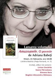 Amazoanele-Opoveste-Adriana-Babeti-lansare