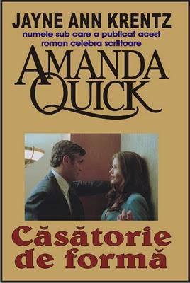 Casatorie de forma – Amanda Quick