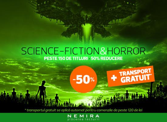 Reducere 50% la romane SF si Horror