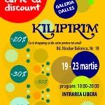 KILIPIRIM 2014 la Galeria Dalles (19-23 martie)