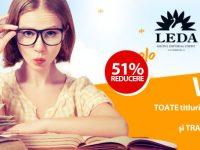 51% Reducere la Cartile Editurilor CORINT si LEDA