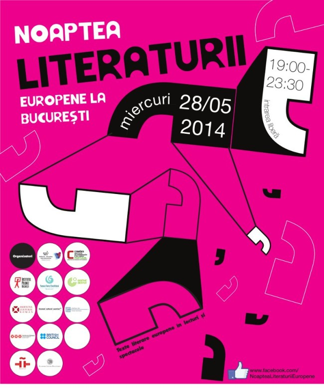 Noaptea Literaturii Europene – Bucuresti 2014