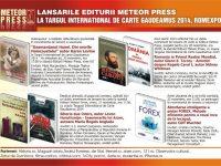 Editura Meteor Press la Târgul Internaţional de Carte Gaudeamus 2014- Romexpo