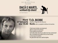 T.O.Bobe, Bucla – Seara de Lectura la Libraria Humanitas