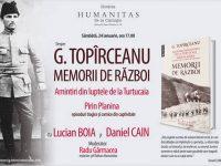 """""""Memorii de război. Amintiri din luptele de la Turtucaia. Pirin Planina"""", de G. Topîrceanu – la Humanitas Cismigiu"""