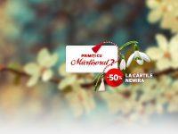 Nemira iti ofera reduceri de Martisor – 50% la carte