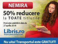 TOATE titlurile Nemira au 50% reducere