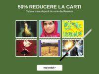 Carti si eBooks cu reducere 50%