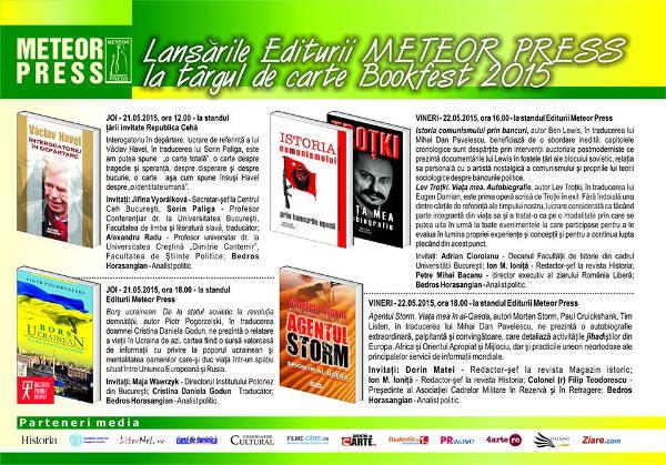 Post-Bookfest 2015, Editura Meteor Press