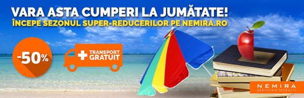 Cartile Nemira -50% Reducere in acest weekend