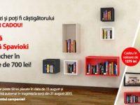 Castiga o biblioteca modulara + 700 RON