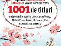 """Librarul  – 2016  CONTINUĂ  CU  REDUCERI  PENTRU """"1001 DE TITLURI"""""""
