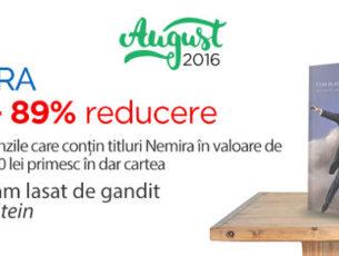 Promotii si reduceri de august