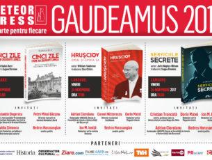 Lansările de toamnă Meteor Press, la Gaudeamus 2017